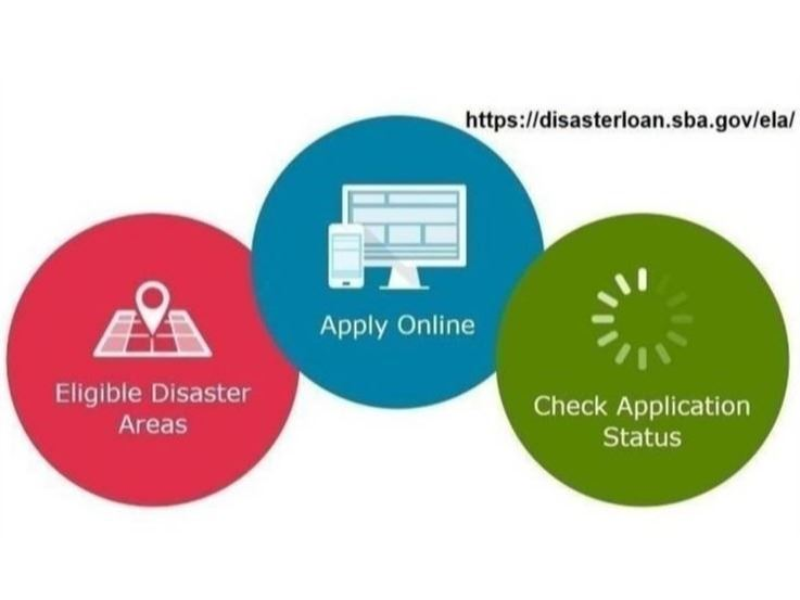 Information for SBA disaster loan