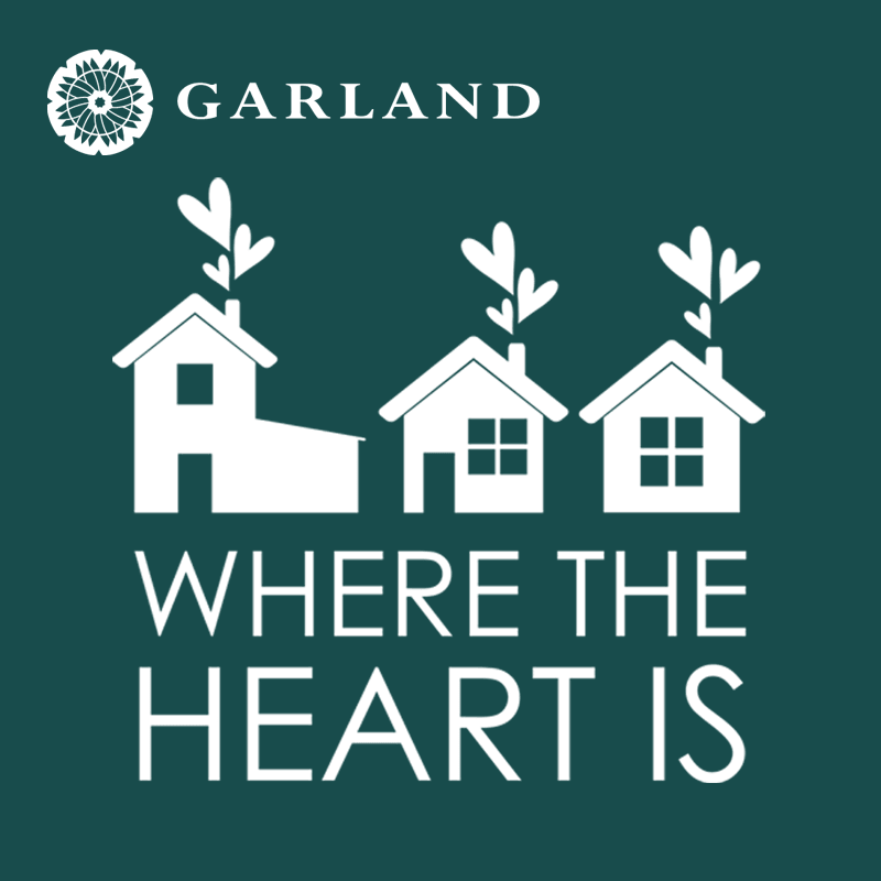 Where the Heart is logo dark teal